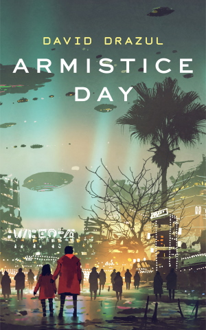 forthcoming book cover for Armistice Day